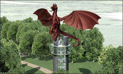 Dragon tower image