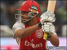 Ravi Bopara in action last year for Kings XI Punjab