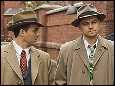 Leonardo DiCaprio (r) with Mark Ruffalo in Shutter Island