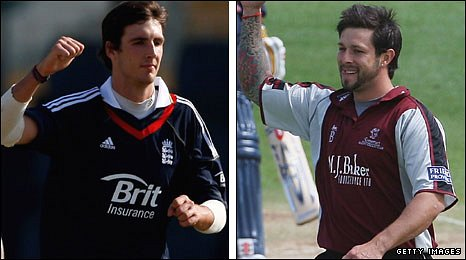 Steven Finn and Peter Trego
