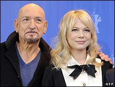 Sir Ben Kingsley and Michelle Williams
