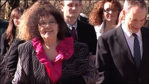 Dame Cleo Laine and her family