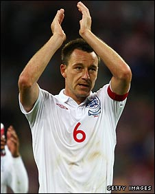 England and Chelsea defender John Terry