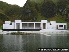 Tarlair tidal pool complex [Pic: Historic Scotland]