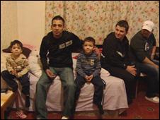 Migrnats in Govanhill flat