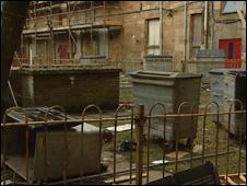 Slum housing