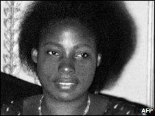 Agathe Habyarimana (1977 photo)