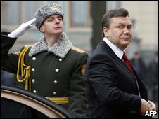 Viktor Yanukovych, prior to his inauguration, Feb 2010