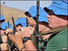 UN peacekeepers in Chad