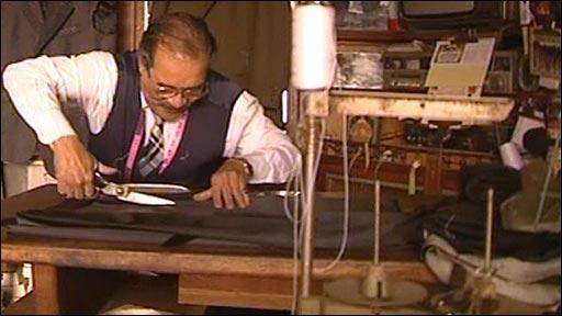 An Iraqi tailor