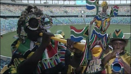 South African football supporter