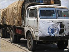 WFP food aid truck in Somalia (Archive photo)