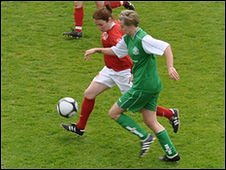 Football: Ladies Muratti Final 2009 Guernsey v Jersey