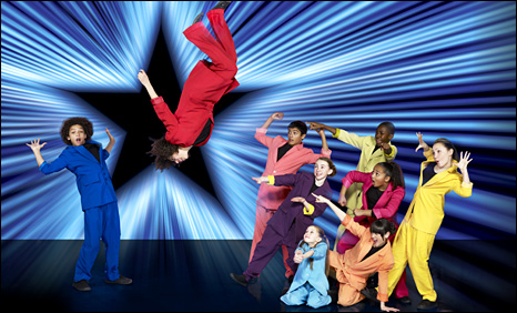Jukebox Juniors performing on Sky1's Got to Dance