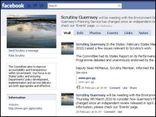 Guernsey Scrutiny on Facebook
