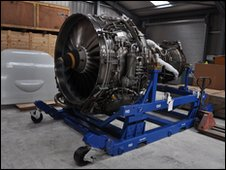 A V2500 engine for an Airbus A320