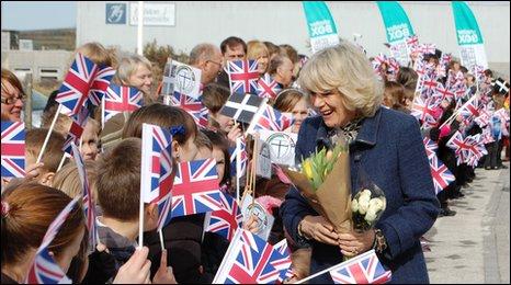Royal visit to ShelterBox
