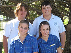 Forbes High School students, Australia