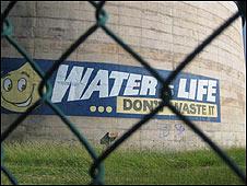 Water tank in
