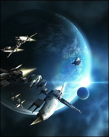 Screenshot from Eve Online, Namco Bandai