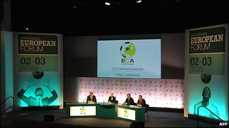 93 clubs from 53 countries attended the ECA's General Assembly in Manchester