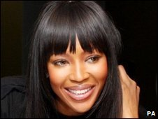 Naomi Campbell - file photo 26 February 2010