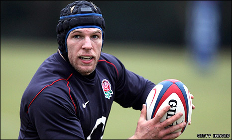 England and Stade Francais flanker James Haskell