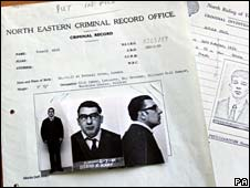 Criminal record of Ronnie Kray