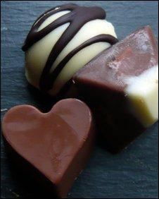 Cheese chocolates