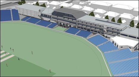 Artist's impression of proposed new facilities