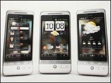 HTC handsets
