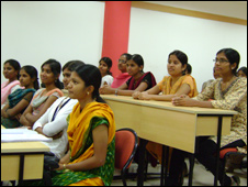 Students at RiiiT in Mysore