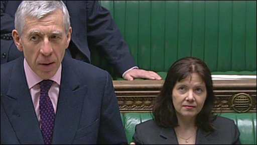 Jack Straw and Clare Ward