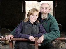 Kate and Jim Beavan