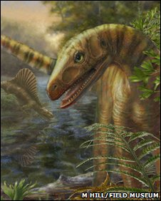 Reconstruction of Asilisaurus kongwe, a close dinosaur relative, from the Middle Triassic of Africa