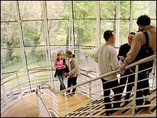 University staircase