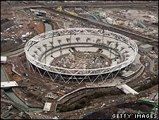 The Olympic Stadium can accommodate 80,000 people