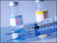 Syringes and drugs