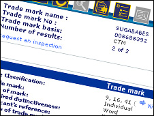 Sugababes trademark application
