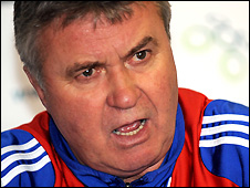 Russia coach Guus Hiddink is wanted by Ivory Coast