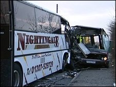 County Durham bus crash