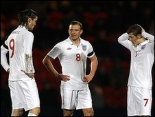 Andy Carroll, Lee Cattermole and Jack Wilshere