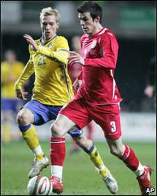 Gareth Bale was Wales main attacking threat