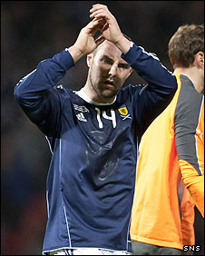 Scotland striker Kris Boyd