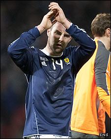 Scotland striker Kris Boyd