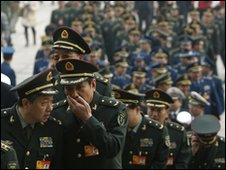 Chinese military in Beijing - photo 4 March