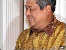 Indonesian President Susilo Bambang Yudhoyono (4 March 2010)