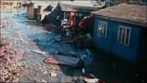 Tsunami in Dichato