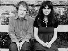 Jonny Kearney and Lucy Farrell