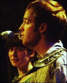 Lucy Farrell and Jonny Kearney
